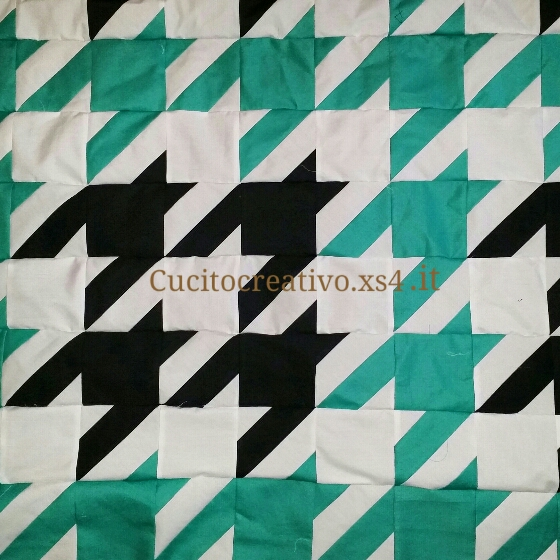 Houndstooth quilt