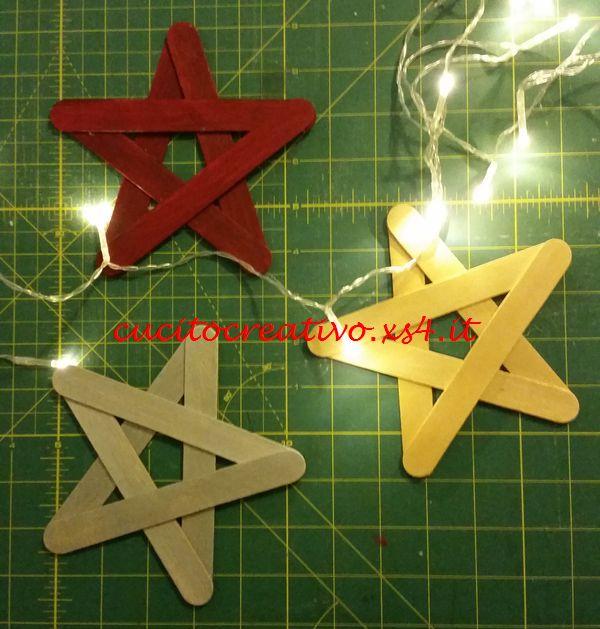 stelle natalizie handmade
